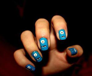 nails, monster, and blue image
