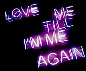 love, grunge, and purple image