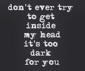 dark and quotes image