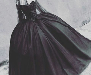 black, dress, and emo image