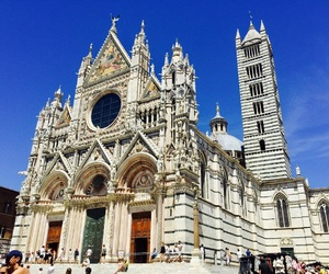 church, travel, and Tuscany image