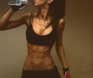 fitness, abs, and sport image