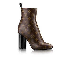 boots, louisvuitton, and silhouette ankle boot image