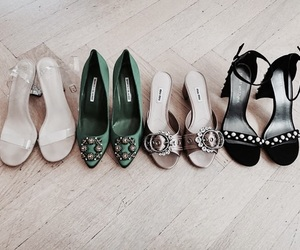 shoes, heels, and high image