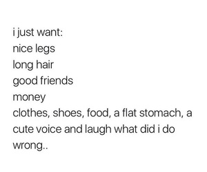 clothes, food, and hair image