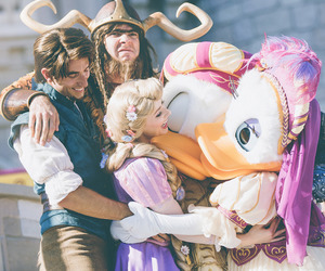 donald duck, photography, and rapunzel image