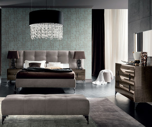 bed, platform bed, and modern bed image