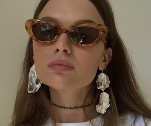 fashion, sunglasses, and model image