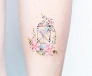 tattoo and pastel image