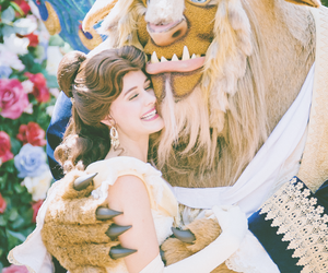 beauty and beast, beauty and the beast, and belle image