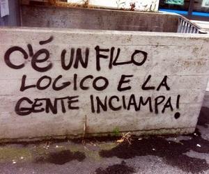 frasi, graffiti, and italiano image