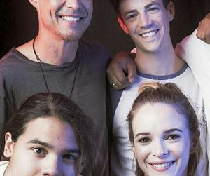 comic con, danielle panabaker, and the flash image