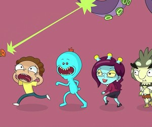 rick, unity, and morty image