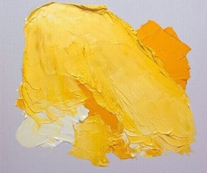 yellow, art, and paint image