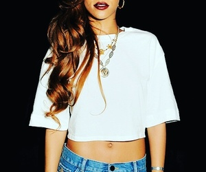 rihanna, hair, and riri image