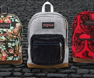 bags, jansport, and mochilas image