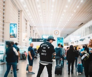 airport, music, and singers image
