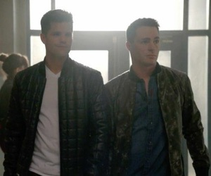 teen wolf, ethan, and jackson image