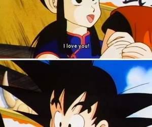 anime, couple, and dbz image