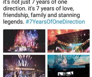 fandom, 7 years, and one direction image