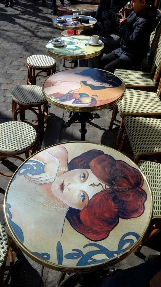 art, cafe, and beauty image