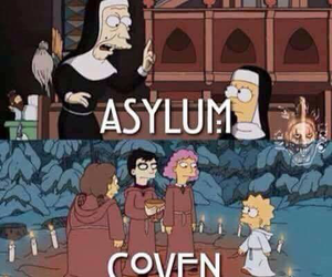 ahs, american horror story, and coven image