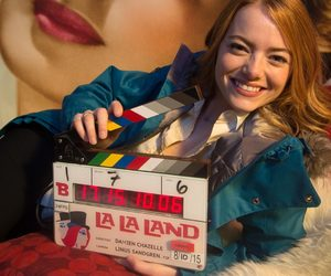 behind the scenes, emma stone, and oscars image