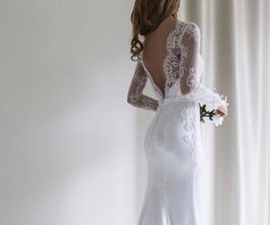 evening dress, chiffon dress, and prom dress image