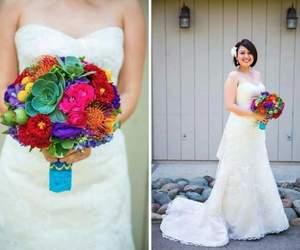 boda, wedding, and wedding bouquet image