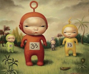 art, Mark Ryden, and teletubbies image