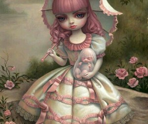 Mark Ryden, art, and pink image