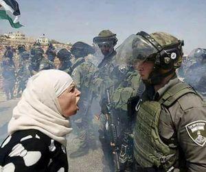 Gaza, peace, and woman image