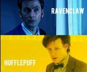 doctor who, david tennant, and gryffindor image