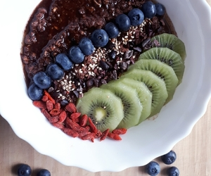 blueberry, goji, and healthy image
