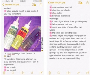 hair, haircare, and products image