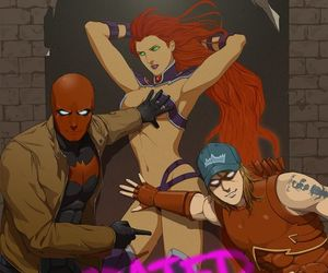 Arsenal, DC, and red hood image