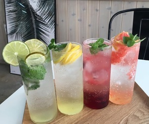 colorful, cool, and drinks image