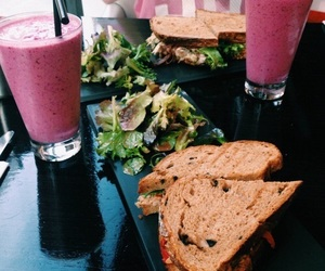 food, healthy, and smoothie image