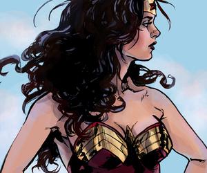 wonder woman and dc comics image