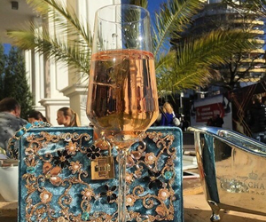 luxury, bag, and drink image