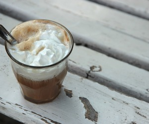 coffee, cream, and cup image