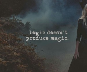 magic, logic, and wallpaper image
