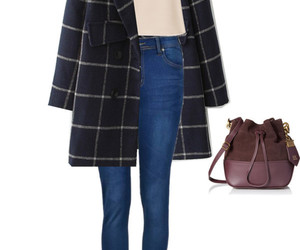 bag, clothes, and coat image