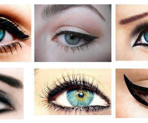 eyes and eyeliner image