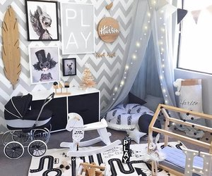 baby room, decor, and house image