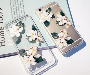 cases, flower, and iphone image