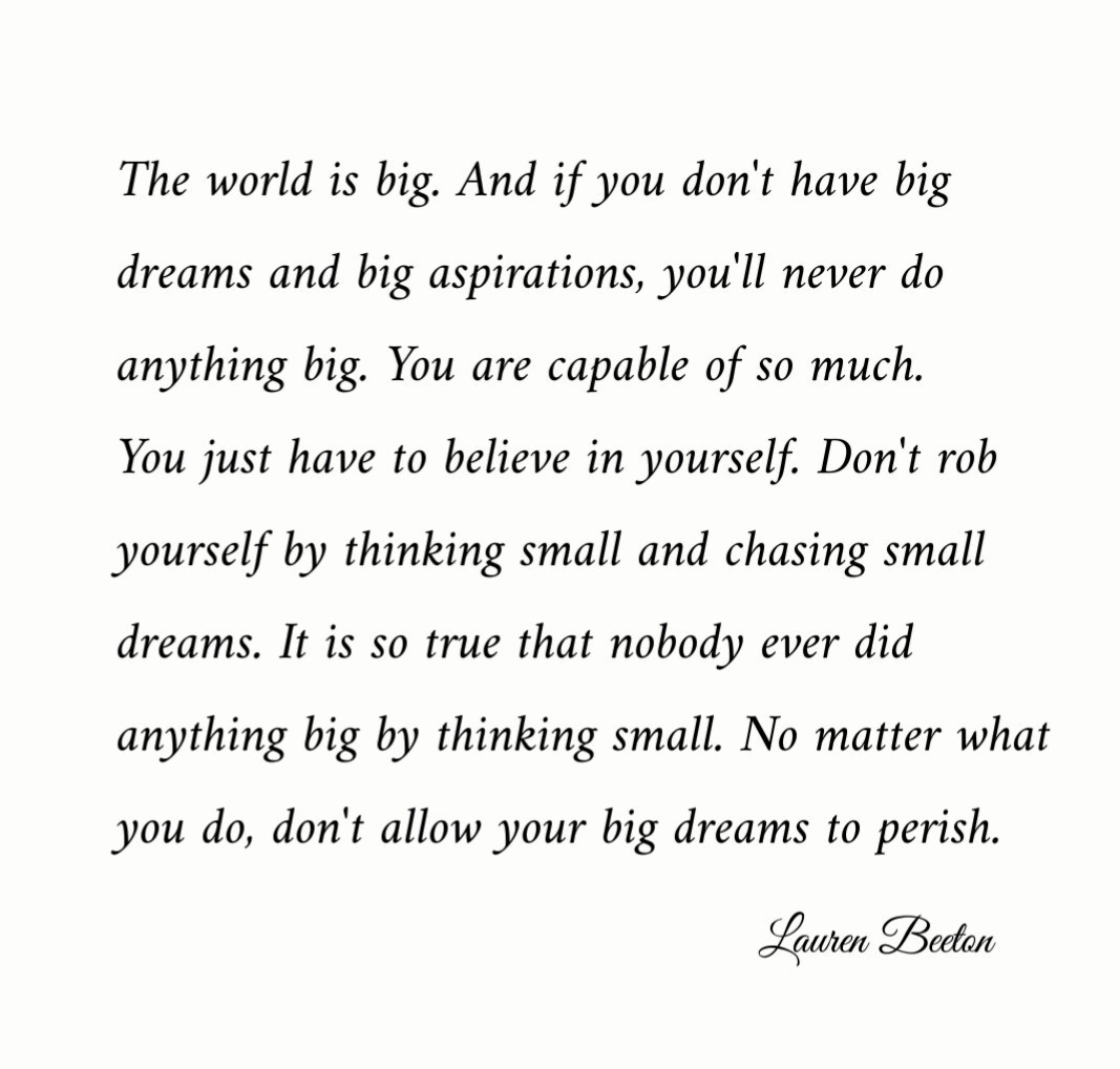 dream big, simplicity simple, and quote true deep image