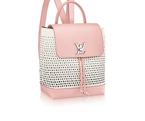 Louis Vuitton, pink, and white image