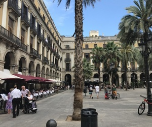 Barcelona, buildings, and spain image