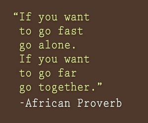 African, together, and alone image